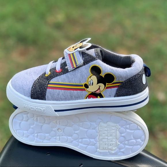 Other - Disney Mickey Mouse Toddler Boys Casual Strap Shoe